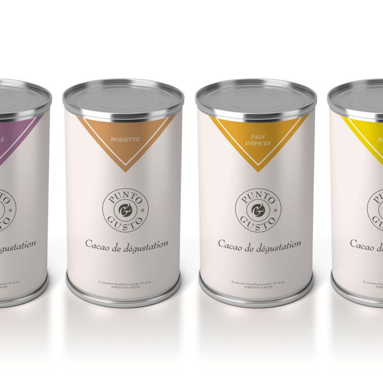 GAMME CACAO - packaging